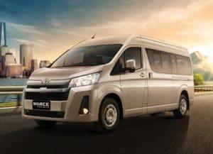 Sewa Rental Mobil Toyota Hiace di Yogyakarta | Harga Murah Paket All Include
