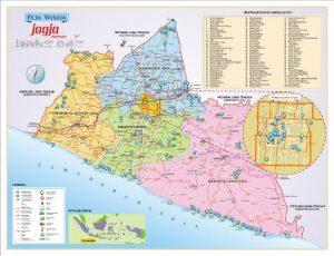 Nama Kabupaten di Yogyakarta | Daftar Kota di Provinsi Daerah Istimewa Yogyakarta