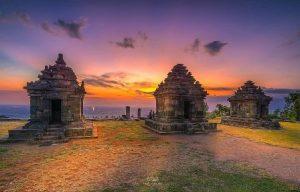 Wisata Candi Ijo | SPOT Terbaik Untuk Menikmati Sunset di Yogyakarta