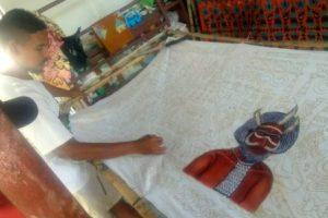 Batik Motif Papua Akhyar Muzaki Giriloyo | Sentra Kerajinan Batik Giriloyo