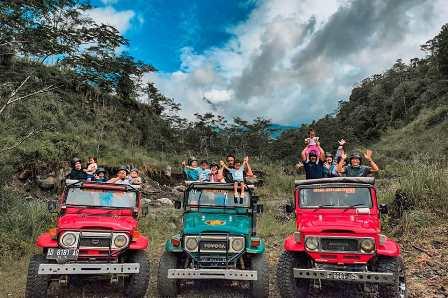 sewa jeep merapi