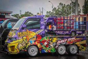 Modifikasi Mobil Pick Up, Hasil Terbaik Pick Up Modifikasi Indonesia