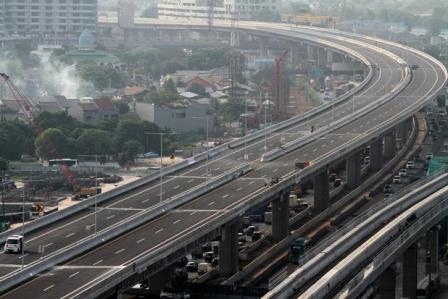 Informasi Tarif Tol Layang Cikampek Terbaru Mulai Januari 2021